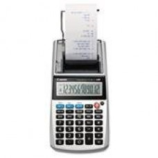 Canon P1-DHV One-Color 12-Digit Printing Calculator, 12-Digit LCD, Purple