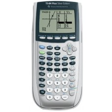Texas Instruments TI-84 Plus Silver Viewscreen Calculator