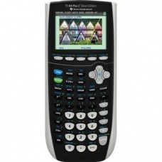 Texas Instruments TI-84 Plus C Silver Edition Graphing Calculator, Black
