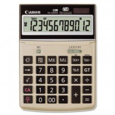 Canon Ts1200tg Desktop Calculator Large12-Digit Adjustable Lcd Display Easy-To-Operate