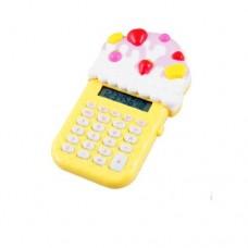 Dimart Ice Cream Design 8 Digits 24 Rubber Keys Electronic Mini Calculator