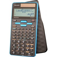 Sharp ELW535TGBBL EL-W535TGBBL Scientific Calculator, 16-Digit LCD