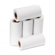"PM Company One-Ply Adding Machine/Calculator Rolls, 2-1/4"" x 17 ft, White, 5/Pack"