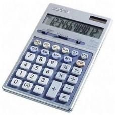 Sharp EL339HB Semi-Desk Executive Metal Top 12-Digit Calculator