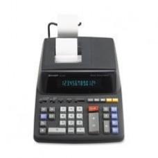 Sharp EL2196BL EL2196BL Two-Color Printing Calculator Black/Red Print 3.7 Lines/Sec
