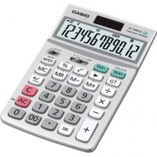 Casio JF-120ECO-S-IH ECO Desktop Solar Calculator with Tax Calculations