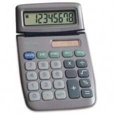 Royal XE6 8-Digit Calculator w/ Solar & Battery (Part 29302J) from ABC Office
