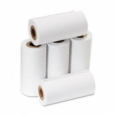 "PM Company Products - PM Company - One-Ply Adding Machine/Calculator Rolls, 2-1/4"""" x 17 ft, White, 5/Pack - Sold As 1 Pack - Lint-free paper reduces jams. - End-of-roll indicator. - 100% satisfaction guaranteed. - Elemental chlorine-free. -"