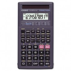 Casio Products - Casio - FX-260 Solar Scientific Calculator, 10-Digit x Two-Line Display, LCD - Sold As 1 Each - All purpose scientific calculator offers fraction calculation, trigonometric functions and is solar powered.