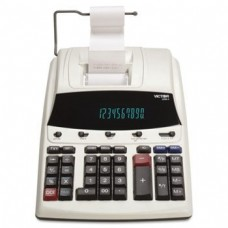 VCT12304 - Victor 1230-4 Fluorescent Display Printing Calculator