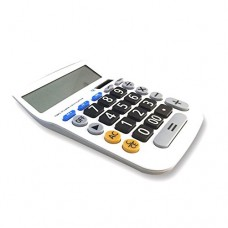 HOMEFUN Calculator, Electronic Desktop Calculator with 12 Digit Large Display, Dual Power Solar and Battery Business Office Calculator