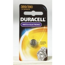 4 each: Duracell Silver Oxide Watch/ Calculator Battery (D389/390PK)