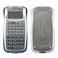 Sentry 250-Function Graphing Calculator, Silver (CA756)