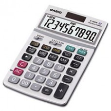 - JF100MS Desktop Calculator, 10-Digit LCD