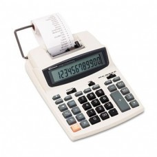 ** 16015 Two-Color Roller Printing Calculator, 12-Digit LCD, Black/Red **