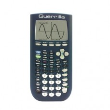 Guerrilla Silicone Case for Texas Instruments TI-84 Plus Graphing Calculator, Navy