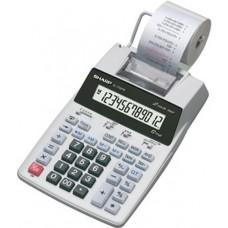 Sharp EL1750V EL-1750V Two-Color Printing Calculator Black/Red Print 2 Lines/Sec