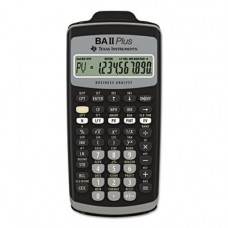BAIIPlus Financial Calculator, 10-Digit LCD, Sold as 2 Each