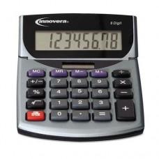 INNOVERA 15927 Portable Minidesk Calculator, 8-Digit LCD