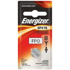 Energizer EPX76BPZ Electronic Silver 1.55V Battery (Black/Red)