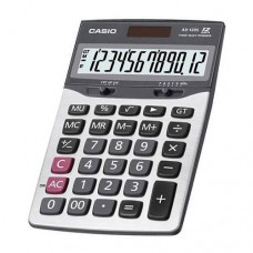 Casio AX-120S Electronic Calculator Mark Up % 12 Digits