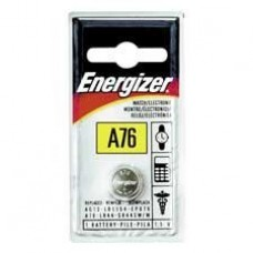 Energizer Products - Watch/Calculator Battery, 1.5 Volt, Manganese - Sold as 1 EA - Manganese 1.5 volt Battery is pre-tested for watches, calculators and solid state miniaturized applications. Replacement for V13GA, RW82 and LR44 Dioxide.