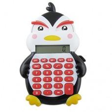 Dimart Plastic Keypad 8 Digits Duck Design Electronic Calculator, Black