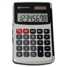 - Handheld Calculator, 8-Digit LCD