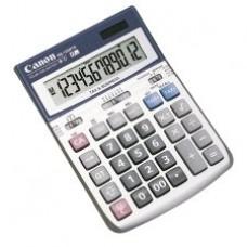 "Canon HS1200TS Desktop Calculator - 12 Character(s) - LCD - Solar, Battery Powered - 4.88"" x 7"" x 1.2"""