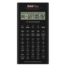Texas Instruments TI BA II Plus Professional Financial Calculator - 10 Character(s) - LCD - Battery Powered IIBAPRO/CLM/4L1/A
