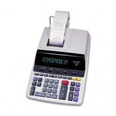 Sharp EL-2630PIII Deluxe Heavy Duty Color Printing Calculator with Clock and Calendar