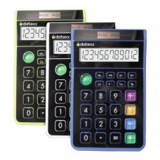 Datexx Hybrid Desk 8 Digit Calculator Assorted Colors