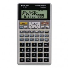 SHARP ELECTRONICS CORP. EL-738C Financial Calculator, 10-Digit LCD (EL738FB)