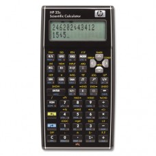 4 X HP 35S Programmable Scientific Calculator, 14 Digit LCD