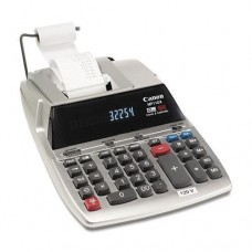 CANON WIDE FORMAT MP11DX Two-Color Printing Desktop Calculator, Black/Red Print, 3.7 Lines/Sec (MP11DX)