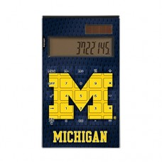 Michigan Wolverines Desktop Calculator NCAA