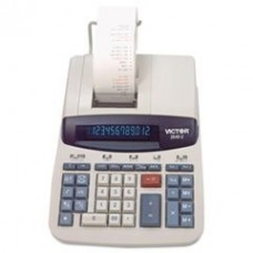 - 2640-2 Two-Color Printing Calculator, Black/Red Print, 4.6 Lines/Sec