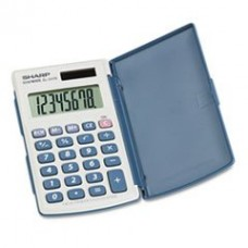 ** EL-243SB Solar Pocket Calculator, 8-Digit LCD
