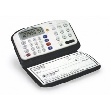 Royal Machines CBC2000 Checkbook Calculator with Designer-style Wallet and Pen