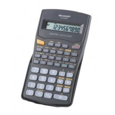 Sharp EL501WBBK 10 Digit 131 Function Calculator.