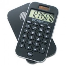- 900 Antimicrobial Pocket Calculator, 8-Digit LCD