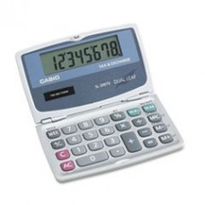 - SL200TE Handheld Foldable Pocket Calculator, 8-Digit LCD