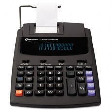 Innovera - 16000 Two-Color Roller Printing Calculator, Black/Red Print, 2.7 Lines/Sec 16000 (DMi EA