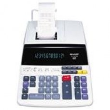SHARP EL-1197PIII 12-Digit Electronic Printing Calculator