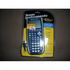 Texas Instruments Inc. TI-84 Plus Silver Edition Dark Blue Graphing Calculator