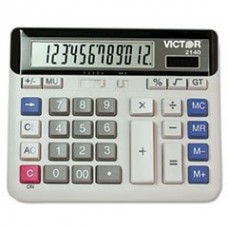 - 2140 Desktop Business Calculator, 12-Digit LCD