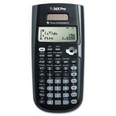 Texas Instruments TI-36X PRO Scientific Calculator, Solar Powered
