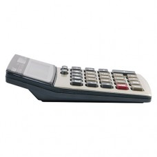 Eagle Desktop Calculator,12-Digit with Large LCD Display, Dual Power, Solar Plus Button Battery