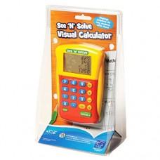 Educational Insights See 'N' Solve Visual Calculator