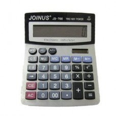 JOINUS JS-766 Dual Power 12 Digit Calculator